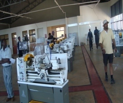 Proposed  Engineering Workshops for Kimathi University College of  Technology –workshops and catering unit.