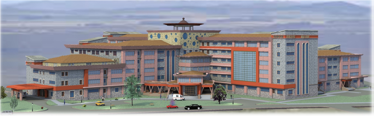 The Proposed  Upgrading of Nanyuki District Hospital for teaching and referal hospital